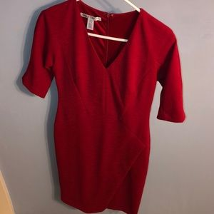 Maggy London Red dress size 6